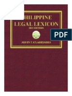 Philippine Legal Lexicon
