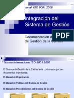 Integración Del Sistema de Gestión