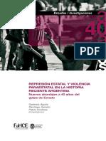 Represión estatal y violencia paraestatal en la historia reciente argentina