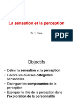 4 La Sensation Et La Perception