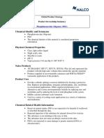 Phosphinosuccinic Oligomer (PSO)