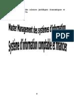 Systeme d'Info Comptable Et Financier
