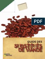 Guide des substituts de viande