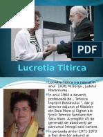 Lucretia Titirca