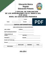 Registro de Areas PCR 2014