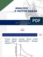 Analisis Siklus Motor Bakar