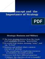 Ch 01-Strategy and Its Importance