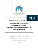 Darft Proposal Seminar Internasional Filantropi Islam.doc