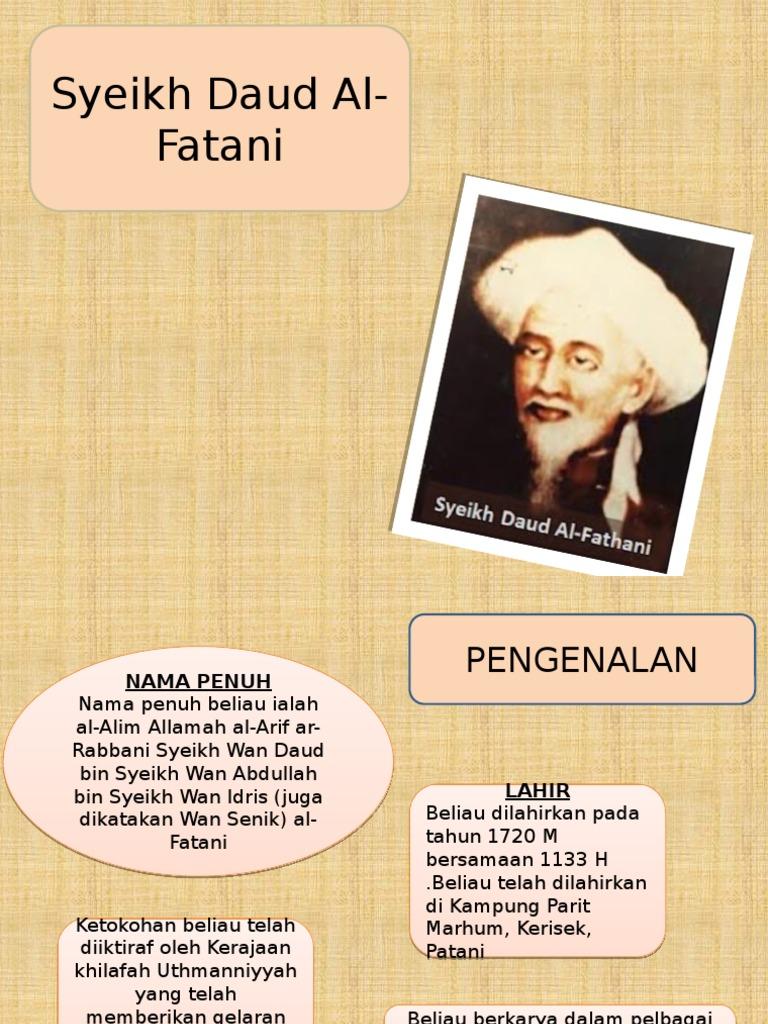 Syeikh Daud Fatani