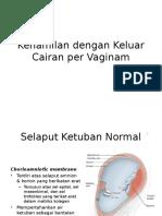 Kehamilan Dengan Keluar Cairan Per Vaginam