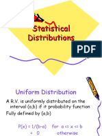 Statistical Distribution