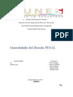 TRABAJO Generalidaes del Derecho Penal