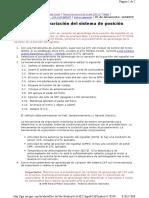Aprendizaje de Variación Del Sistema de Posición Cigüeñal chevrolet vivant