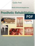 Prosthetic Rehabilitation - Preti