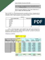 ME Studiul de Caz 1 Previziunea Vanzarilor Rezolvare Cu Excel