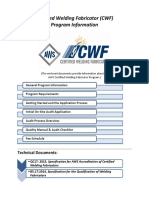 CWF Initial Application