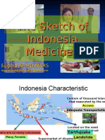 The Sketch of Indonesia Medicine