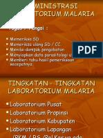 11. Adm Laboratorium Malaria