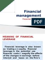 Financial Management SHALINI