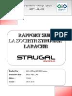 Rapport Sur La Société STRUGAL Larache