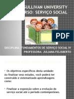 Slide Serviço Social IV