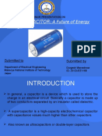 supercapacitor Seminar