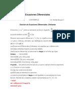 Ecuaciones Diferenciales Con Maple
