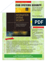 22017375 a Comprehensive Book on InformationSystemsSecurityByNinaGodbole