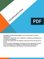 Presentacion Geoarqueologia 2014