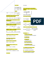 Formulas de Manufactura