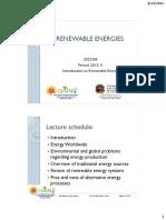 Introduction to renewable energy - Cap 1