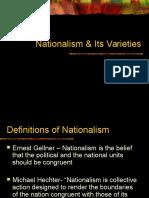 Nationalism & Its Varieties