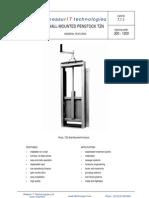 MeasurIT Tehaco TZN Penstocks 0802