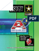 Anniston Army Depot Brochure