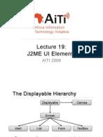 L19 - J2ME