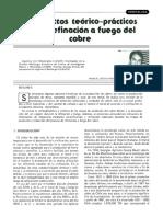 2. Aspectos Teorico Practicos de La Refinacion a Fuego Del Cobre. Manuel Devia