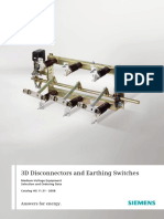 Catalogue 3d Disconnectors and Earthing Switches En