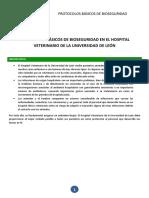 Bioseguridad en clínica veterinaria
