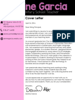 resume coverletter