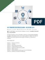 Los 7 Principios de Gestión de Calidad - DIS_ISO 9001_2015-Ocr