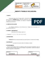 DBM-PP 07 INT-04 Proceso de Soldadura