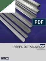 Perfil de Tablaroca Pyma