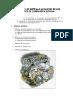 Estudio de Los Sistemas Auxiliares de Los Motores de Combustion Interna