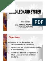 Topic 5-Ward Leonard System