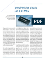 ElectronicControlUnitforelectricbicyclewithan8-BitMCU ECE