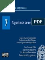 Tema 7 de Fundamentos de la Programación