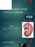 Enfermedad Renal Crónica Infantil