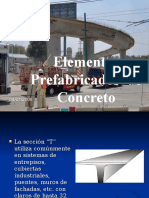 Prefabricados de Concreto