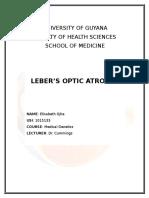 Leber's Optic Atrophy
