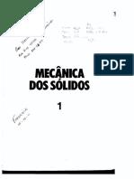 Livro - Mecânica Dos Sólidos Timoshenko - Vol 1